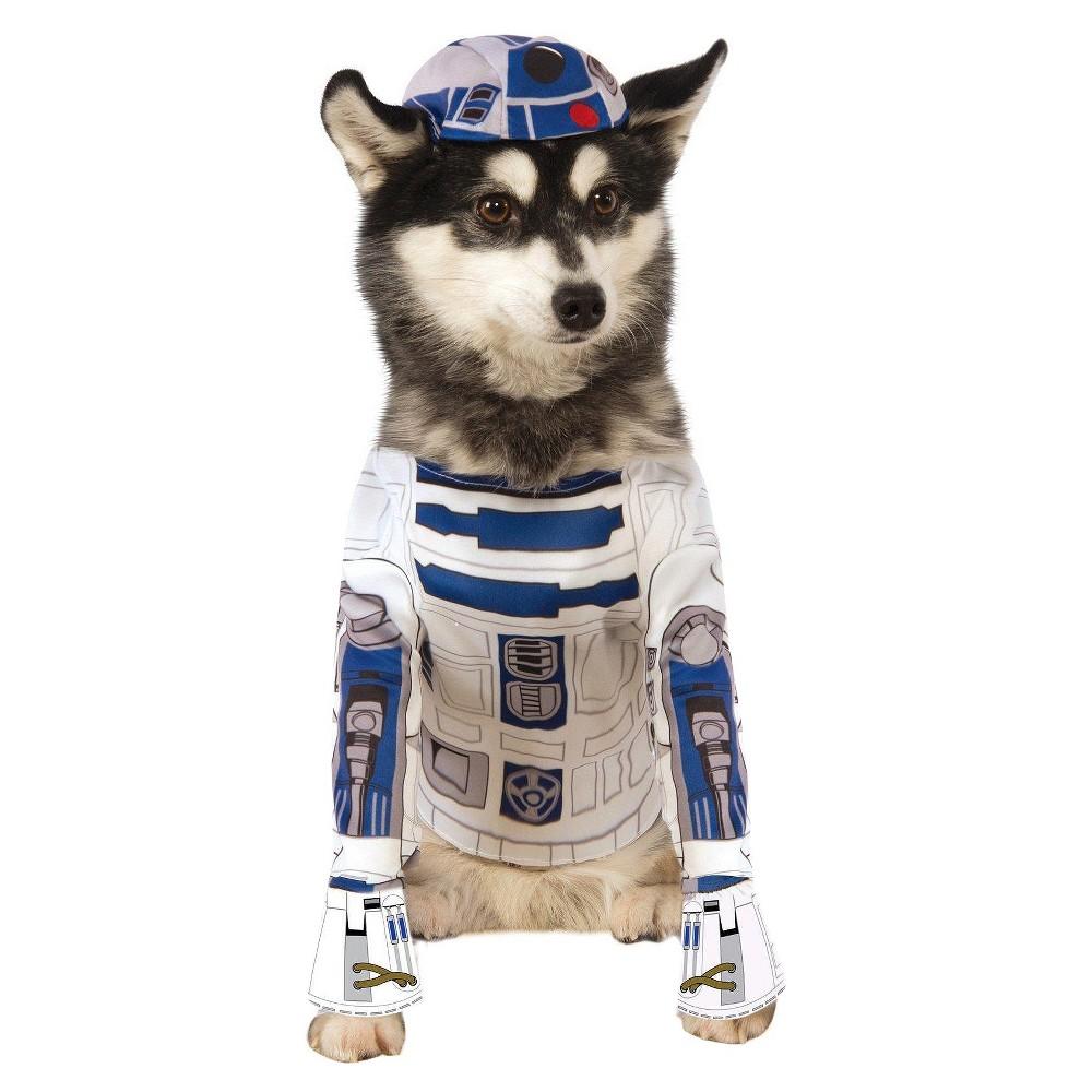 Star Wars R2D3 Dog Costume - Medium, Multicolored