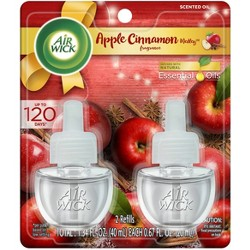 Air Wick Apple Cinnamon Medley Scented Oil Air Freshener Refills