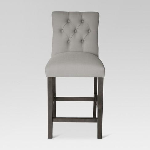 Fine 24 Brookline Tufted Counter Stool Threshold Ibusinesslaw Wood Chair Design Ideas Ibusinesslaworg