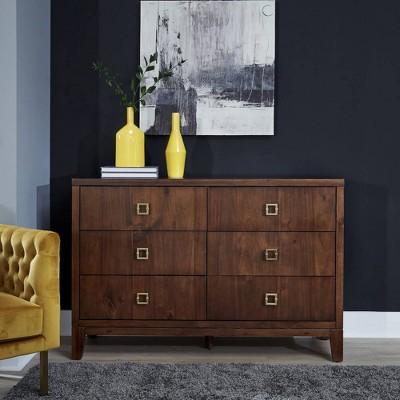 Bungalow Dresser Medium Brown - Home Styles
