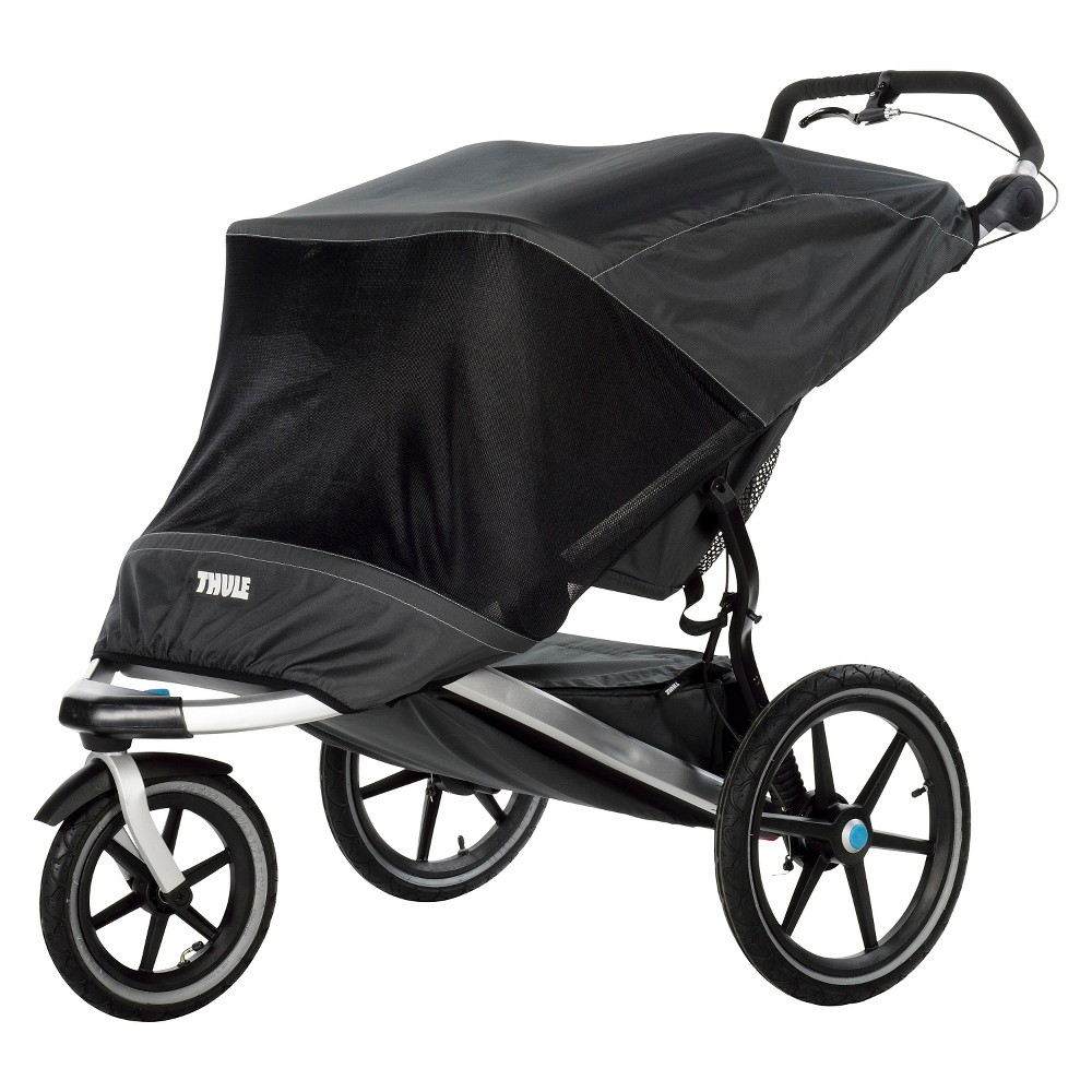 Image of Thule Urban Glide 2 Mesh Sun And Wind Cover, Black