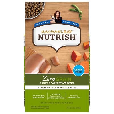 Rachael Ray Nutrish Zero Grain Chicken and Sweet Potato Dry Dog Food