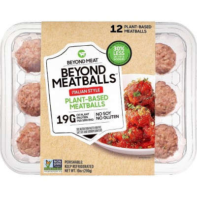 Beyond Meat Beyond Meatballs Italian Style Plant-Based Meatballs - 10oz/12ct