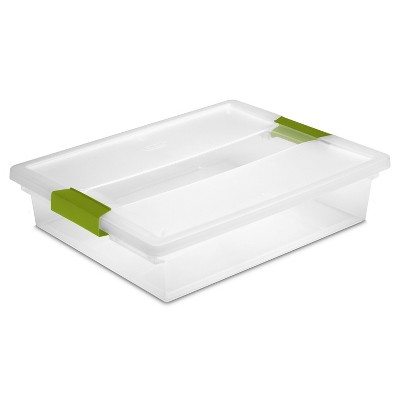Incroyable Clip Storage Box   Green   Room Essentials™