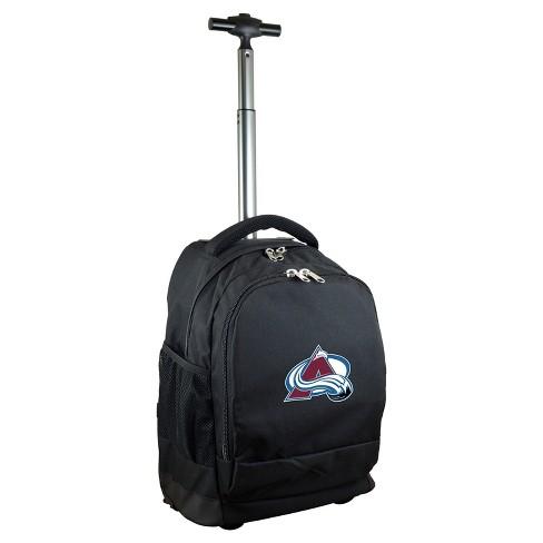 NHL Mojo Premium Wheeled Backpack - Black - image 1 of 4