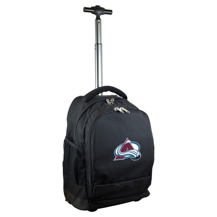 NHL Mojo Premium Wheeled Backpack - Black - image 1 of 7