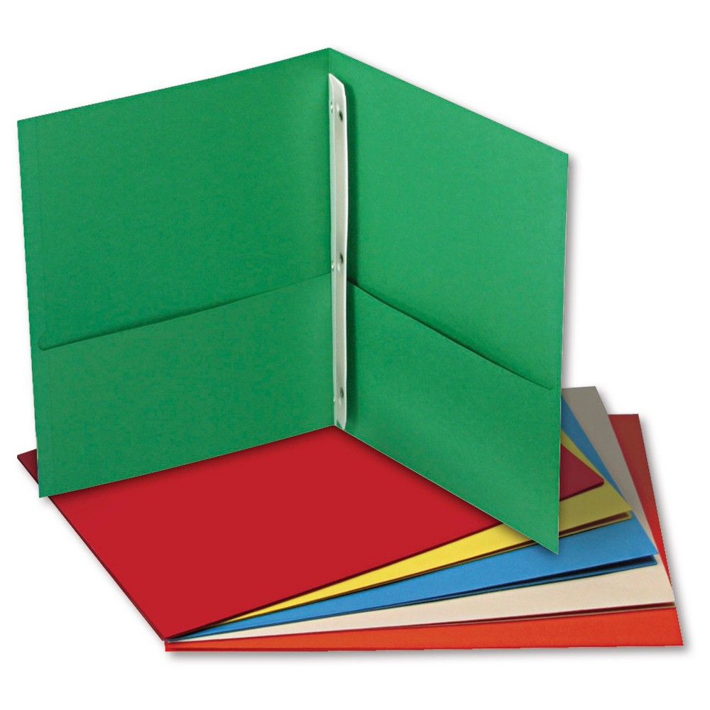 Paper Folder Black Dark Blue Green Light Sky Blue Universal Office