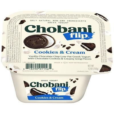 Chobani Flip Cookies & Cream Greek Yogurt - 5.3oz