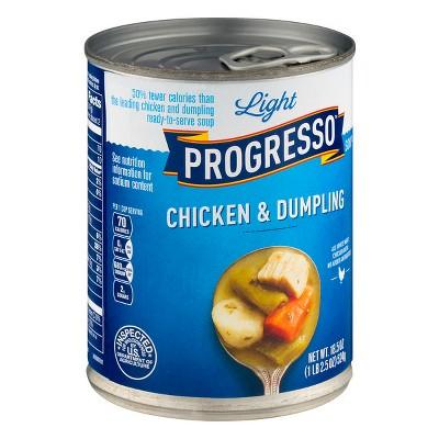 Progresso Light Chicken & Dumpling Soup 18.5oz