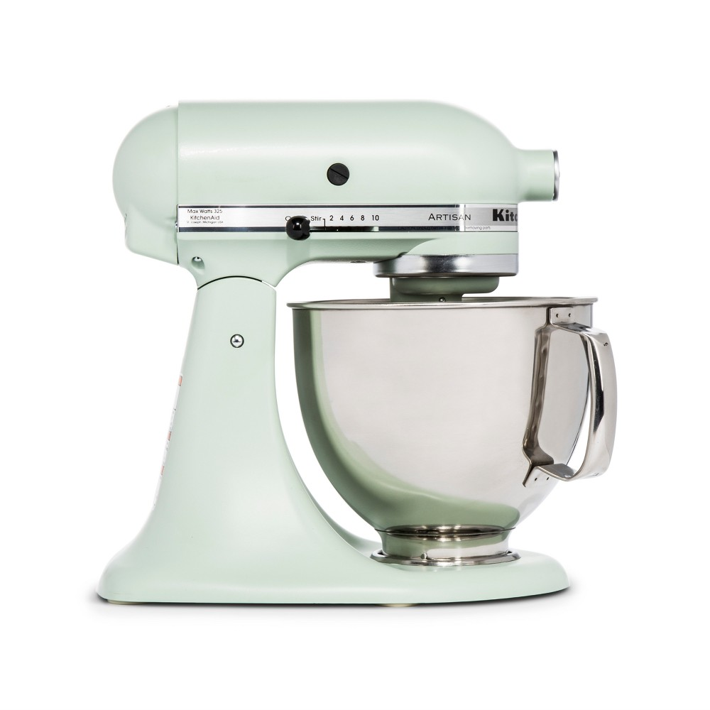 KitchenAid Refurbished Artisan Series Stand Mixer – Pistachio (Green) RRK150PI 53570915