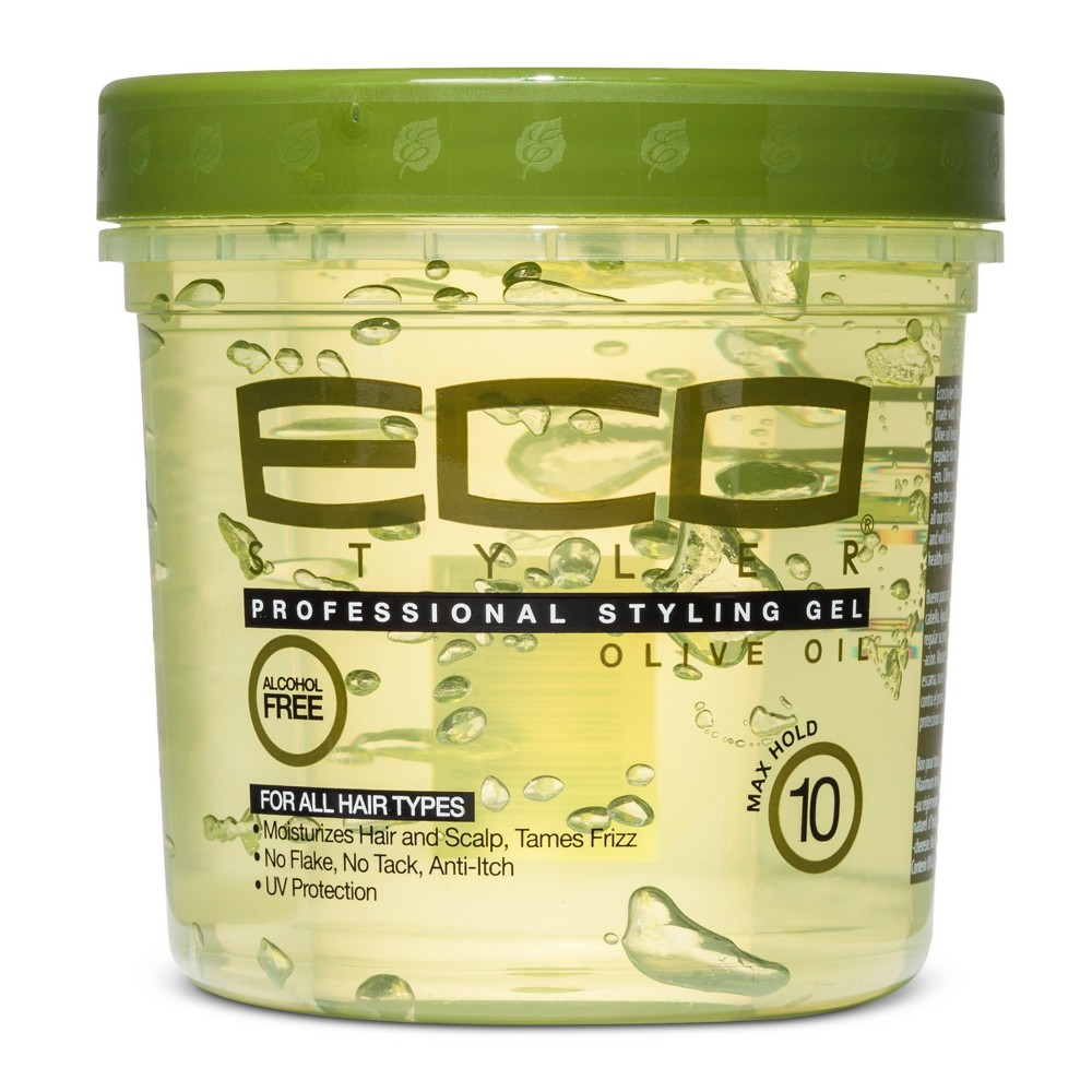 Image of Eco Style Professional Styling Gel Olive - 16 fl oz
