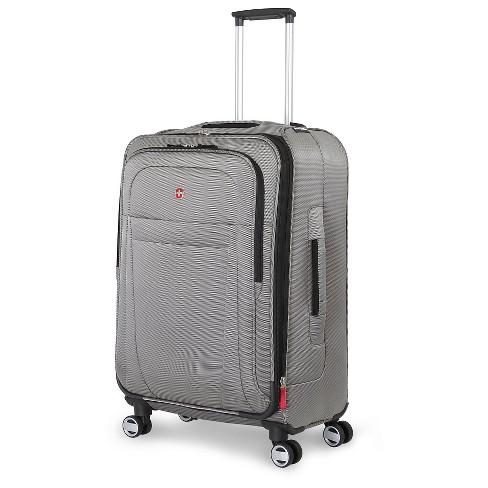 """SWISSGEAR Zurich 24.5"""" Suitcase - Pewter - image 1 of 4"""