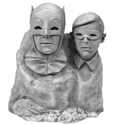 Factory Entertainment DC Comics Batman 1966 Dynamic Duo Monolith Statue