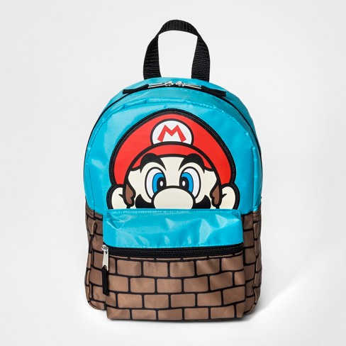 Boys' Mario Backpack - Blue - image 1 of 2