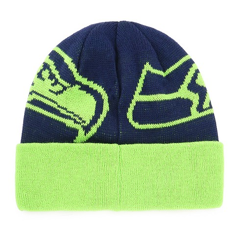 21e05cc578cda3 NFL Youth Seattle Seahawks Twice Knit Hat : Target