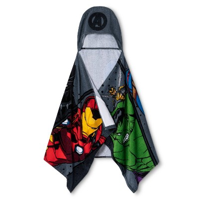Marvel Avengers Hooded Towel