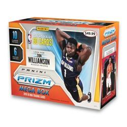 2019 NBA Prizm Basketball Trading Cards Mega Box
