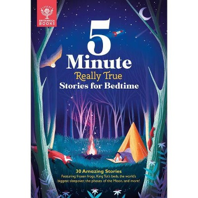 Britannica 5 Minute Really True Stories (Board Book)