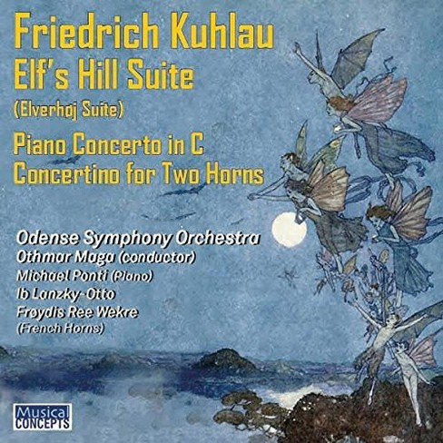 Odense Symphony Orch - Kuhlau:Elves Hill Suite/Piano Cto (CD) - image 1 of 1