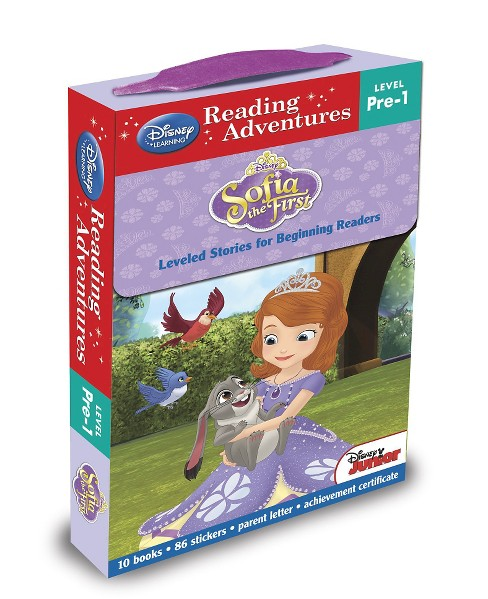 Sofia the First : Leveled Stories for Beginning Readers (Paperback) - image 1 of 1