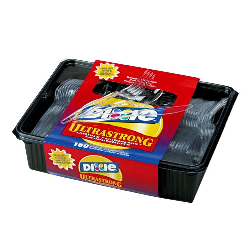 Dixie Ultrastrong Cutlery Pack - 180ct