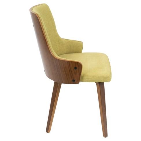 Stella Mid Century Modern Dining Chair Set Of 2 Lumisource Target