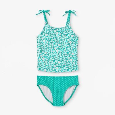 Girls' Tropical Floral Tankini Set - Cat & Jack™ Green