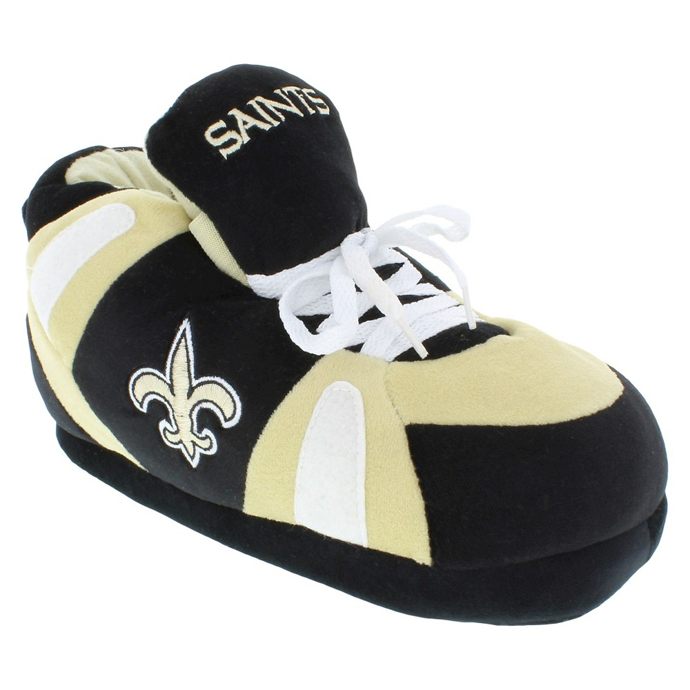 Comfy Feet NFL New Orleans Saints Slipper SM, Kids Unisex, Size: Small, Multicolored