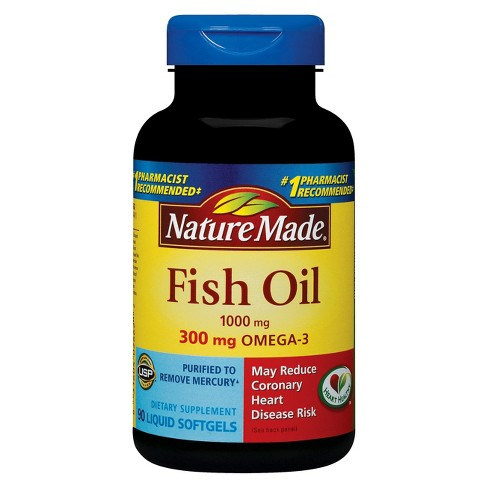 0ecf48109448 Nature Made Fish Oil Omega-3 Dietary Supplement Softgels   Target
