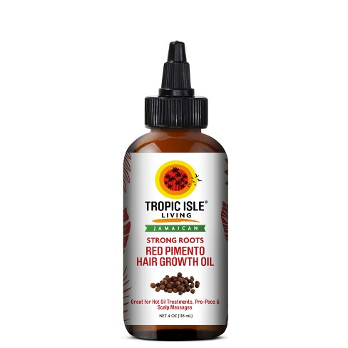 Tropic Isle Living Jamaican Strong Roots Red Pimento Hair Growth Oil - 4oz - image 1 of 1