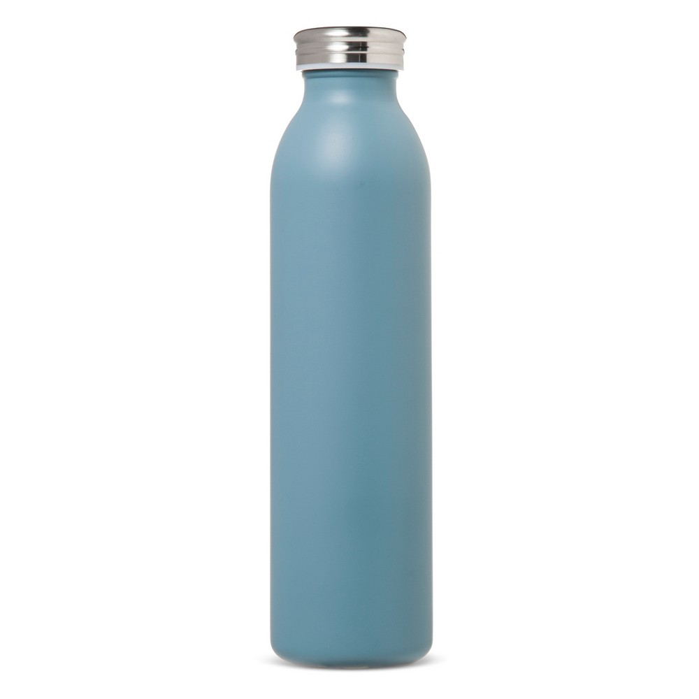 20oz Stainless Steel Insulated Retro Water Bottle - Teal Matte, Sonnet Teal