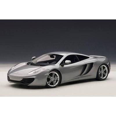 mclaren mp4-12c silver 1/18 diecast car modelautoart : target