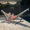 Vivere 9ft Polyester Hammock with Stand - image 3 of 4