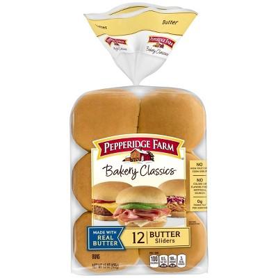 Pepperidge Farm Butter Slider Buns - 15oz/12ct