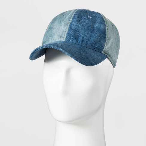 Men's Baseball Denim Hat - Original Use™ Blue One Size - image 1 of 3