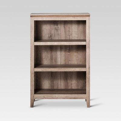Carson 48.125  3 Shelf Bookcase - Rustic - Threshold™
