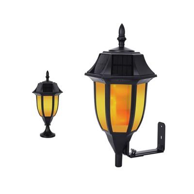 Outdoor LED Wall/Pillar Light Yellow - Techko Maid