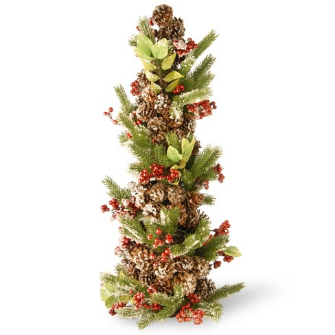 "33"" Holiday Tree Decorative Sculpture - National Tree Company - image 1 of 1"
