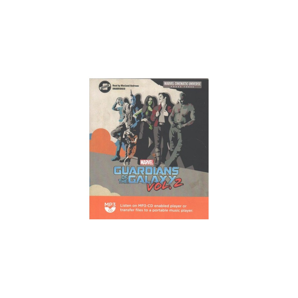 Marvel's Guardians of the Galaxy - (Marvel Cinematic Universe Phase Three) Book 2 (MP3-CD)