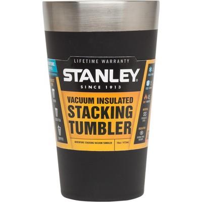 Stanley Pint Glass - Black (16 Oz)