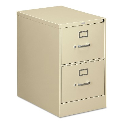 HON 310 Series Two-Drawer Full-Suspension File Legal 26-1/2d Putty 312CPL