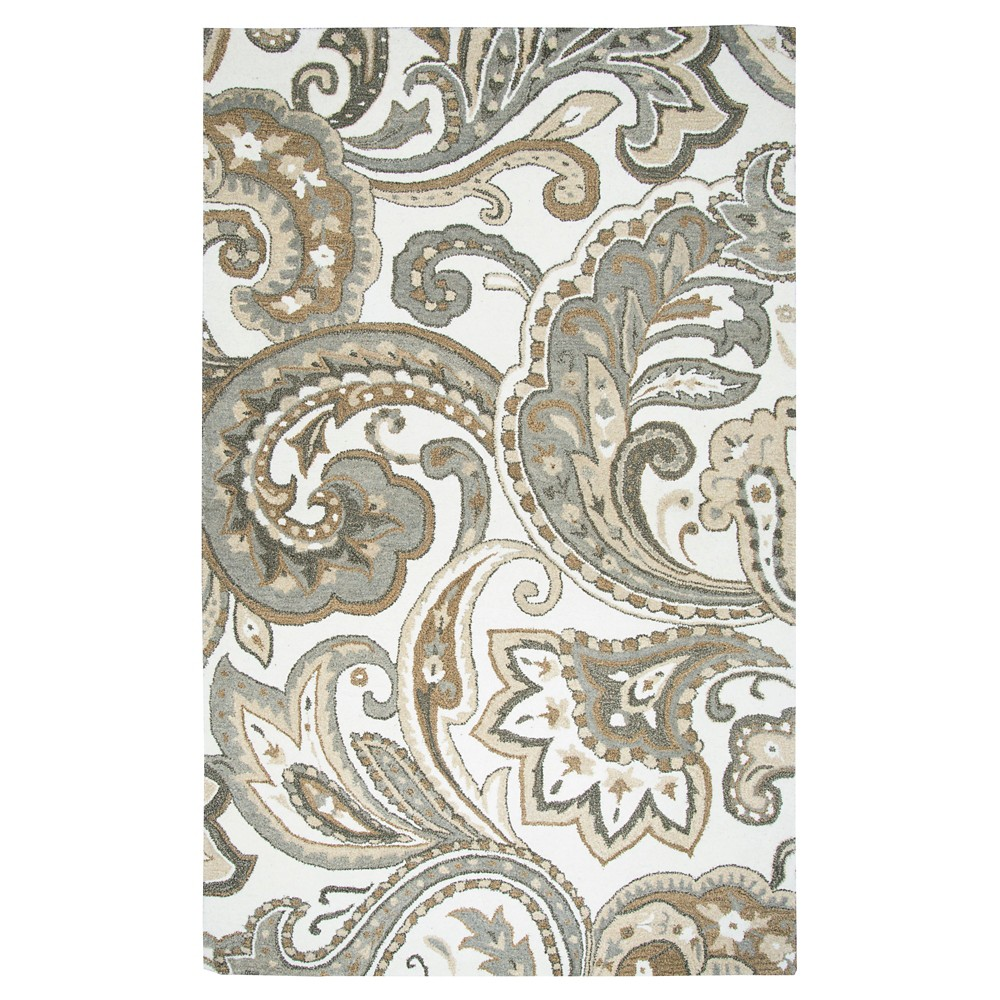 Paisley Rug - Beige - (9'X12') - Rizzy Home