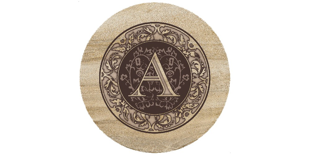Image of Thirstystone Monogram A Trivet