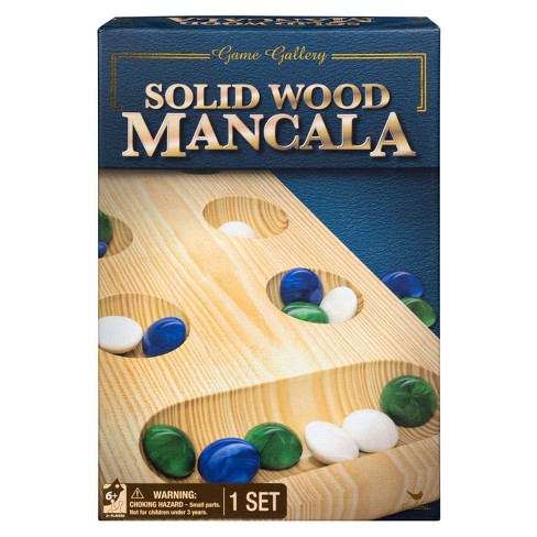 Game Gallery Solid Wood Mancala - image 1 of 4
