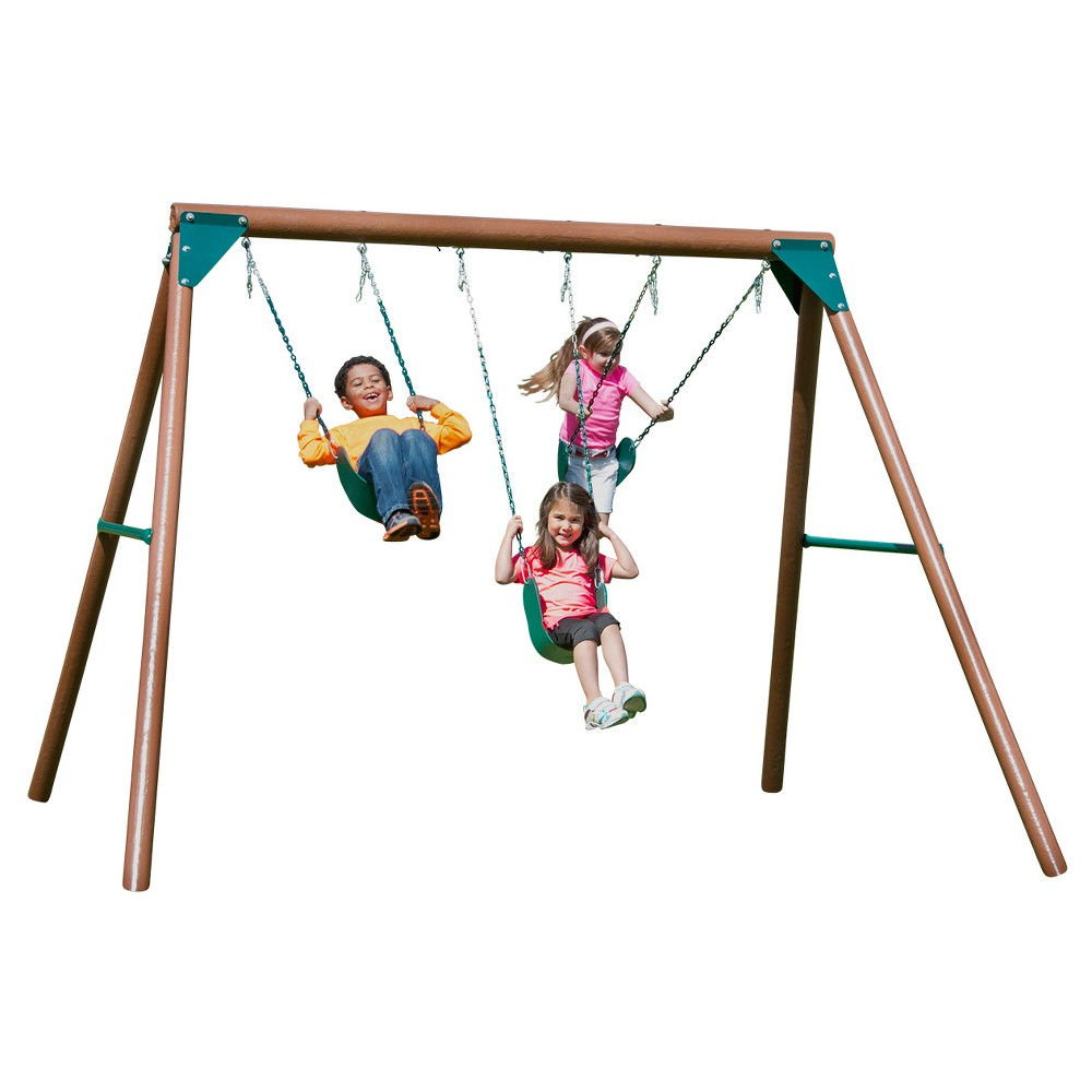 Solstice Swing Set, Multi-Colored