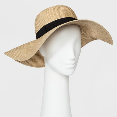 Women's Floppy Hat - A New Day™ Tan - image 1 of 2