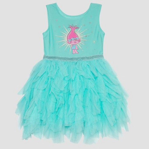 dd9b34739d9df Toddler Girls' Trolls Poppy Ballerina Dress - Aqua : Target
