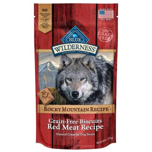 Blue Buffalo Wilderness Rocky Mountain Recipe Dog Treats - 8oz - image 1 of 2
