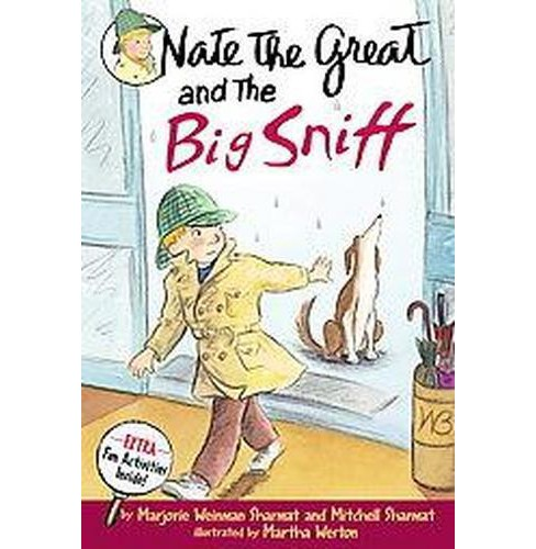 Nate the Great and the Big Sniff ( NATE THE GREAT) (Paperback) by Marjorie Weinman Sharmat - image 1 of 1