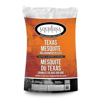 Louisiana Grills 55408 Tangy Tex Mex Maple Texas Mesquite Pellets, 40 Pound